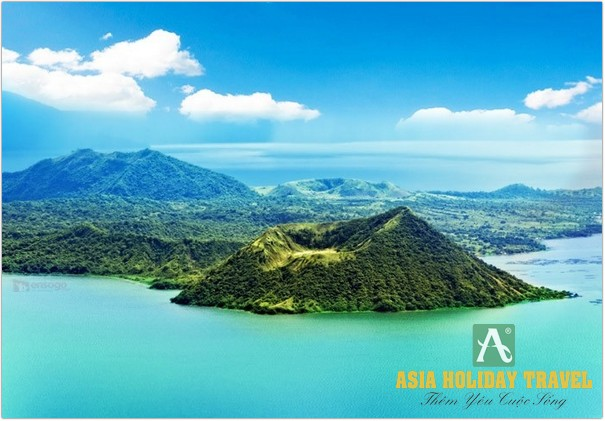 NÚI LỬA TAAL - DU LỊCH PHILIPPINES - ASIA HOLIDAY TRAVEL