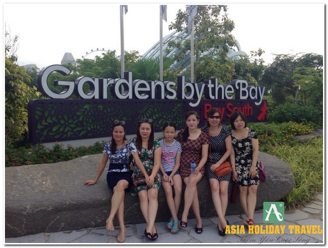 Tour du lịch Singapore - Sentosa - Garden By The Bay