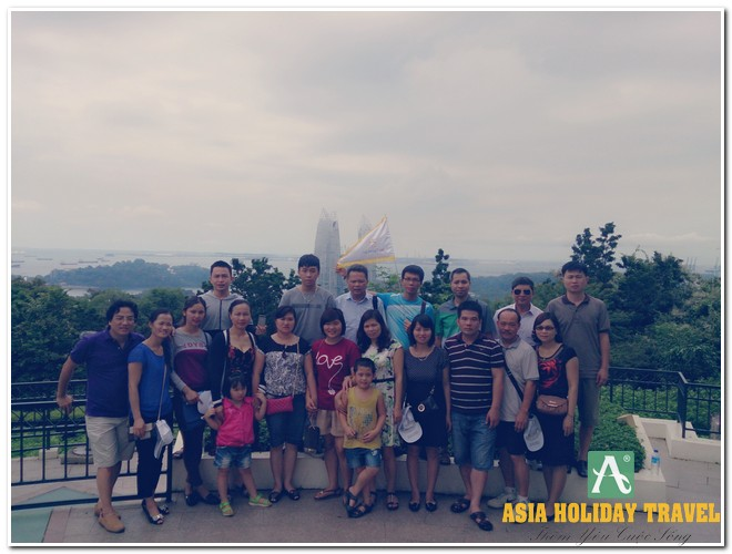 Tour du lịch Singapore - Sentosa - Garden By The Bay (Đồi Faber)